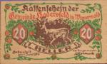 Austria, 20 Heller, FS 327IIa