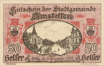 Austria, 50 Heller, FS 37II