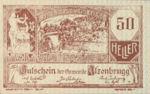 Austria, 50 Heller, FS 63IIaA