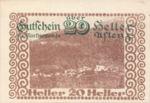 Austria, 20 Heller, FS 7a