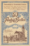 Austria, 50 Heller, FS 40a