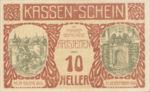 Austria, 10 Heller, FS 52a
