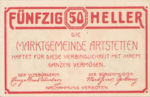 Austria, 50 Heller, FS 52a