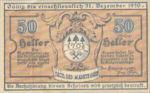 Austria, 50 Heller, FS 12I