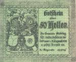 Austria, 50 Heller, FS 49c