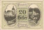 Austria, 20 Heller, FS 61I