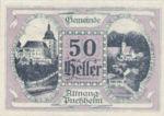 Austria, 50 Heller, FS 61IB