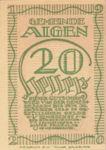 Austria, 20 Heller, FS 13b