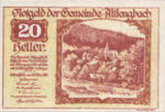 Austria, 20 Heller, FS 33c