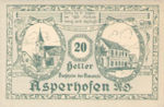Austria, 20 Heller, FS 58a