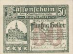 Austria, 50 Heller, FS 37Ia