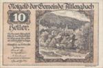 Austria, 10 Heller, FS 33a