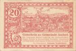 Austria, 20 Heller, FS 40a
