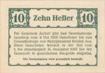 Austria, 10 Heller, FS 40a