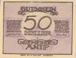 Austria, 50 Heller, FS 43a