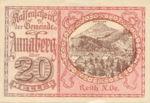 Austria, 20 Heller, FS 44a
