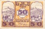 Austria, 50 Heller, FS 48IIBe