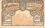 Austria, 20 Heller, FS 50a