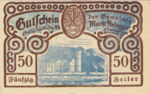 Austria, 50 Heller, FS 50a