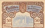 Austria, 50 Heller, FS 50e