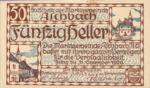 Austria, 50 Heller, FS 55a
