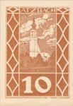 Austria, 10 Heller, FS 62a
