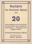 Austria, 20 Heller, FS 62c