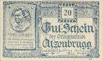 Austria, 20 Heller, FS 63IaF