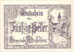 Austria, 50 Heller, FS 27Ia