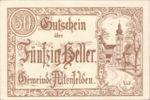 Austria, 50 Heller, FS 27Ibx