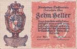 Liechtenstein, 10 Heller, P-0001