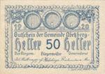 Austria, 50 Heller, FS 1aII