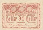 Austria, 30 Heller, FS 1aII