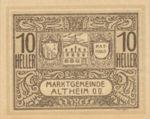 Austria, 10 Heller, FS 32aC1