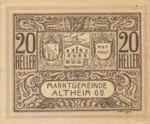 Austria, 20 Heller, FS 32aF