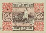 Austria, 90 Heller, FS 387IIIf