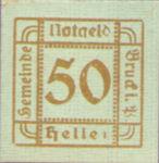 Austria, 50 Heller, FS 107Ie