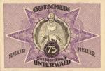 Austria, 75 Heller, FS 1100IIb