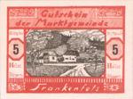 Austria, 5 Heller, FS 208III