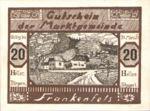 Austria, 20 Heller, FS 208III