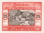 Austria, 25 Heller, FS 208III