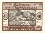Austria, 40 Heller, FS 208III