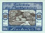 Austria, 60 Heller, FS 208III