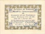 Austria, 50 Heller, FS 215IIr