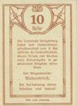 Austria, 10 Heller, FS 361SS2