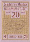 Austria, 20 Heller, FS 361SS2