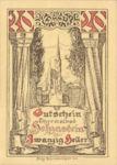 Austria, 20 Heller, FS 384IIa