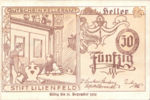 Austria, 50 Heller, FS 526IIIb