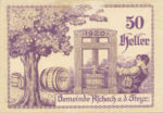 Austria, 50 Heller, FS 54c
