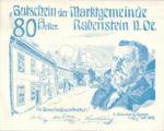 Austria, 80 Heller, FS 808IIIb